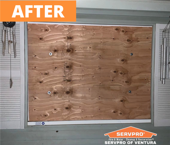 Board Up Services From SERVPRO of Ventura