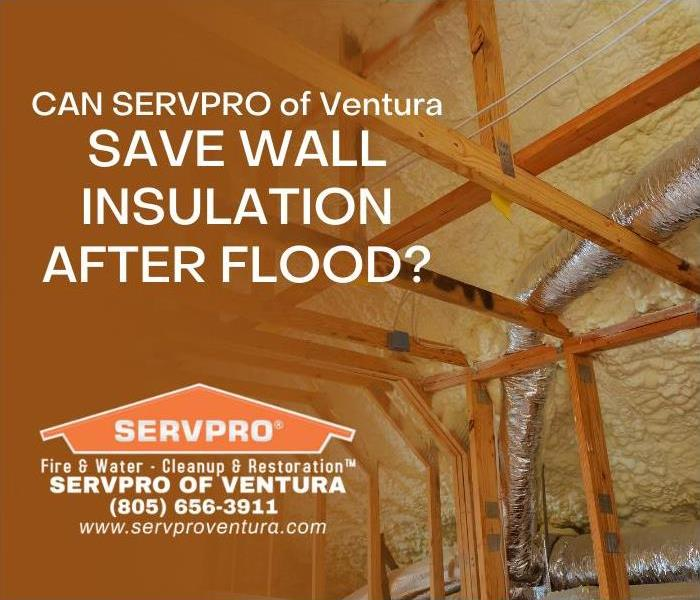 Wall Insulation after Flood in Ventura California