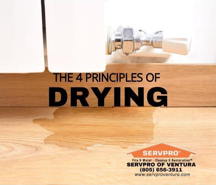 Principle of Drying Water Damage Ventura, California
